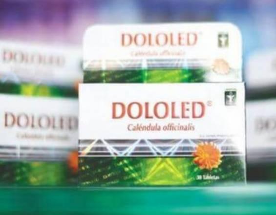 ¡El supuesto medicamento naturista Dololed sí contiene diclofenaco!