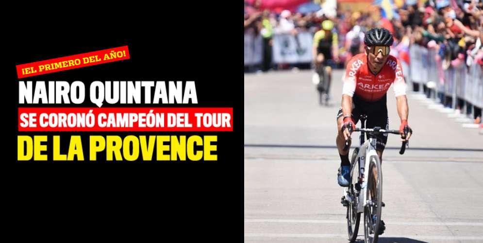 ¡Nairo Quintana, campeón del Tour de La Provence!