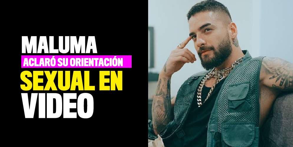 Maluma respondió a críticas sobre su orientación sexual