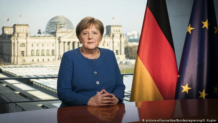 Angela Merkel entra en cuarentena por el Covid-19