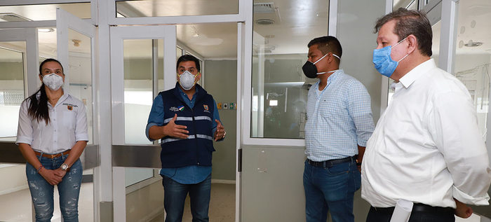 Se volvió a abrir la Clínica Saludcoop para atender casos del Covid-19