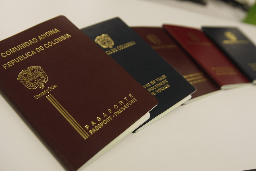 oficina de pasaportes de Cali