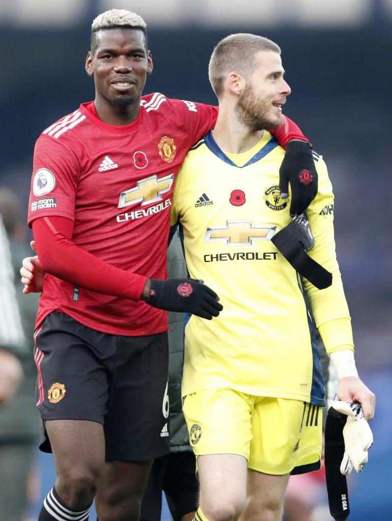 Manchester United se impuso 3-1 ante el Everton