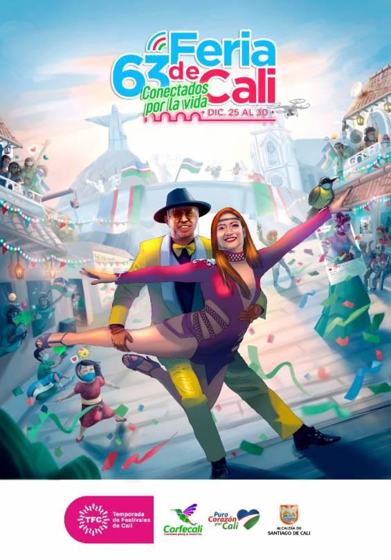 Afiche Feria Virtual