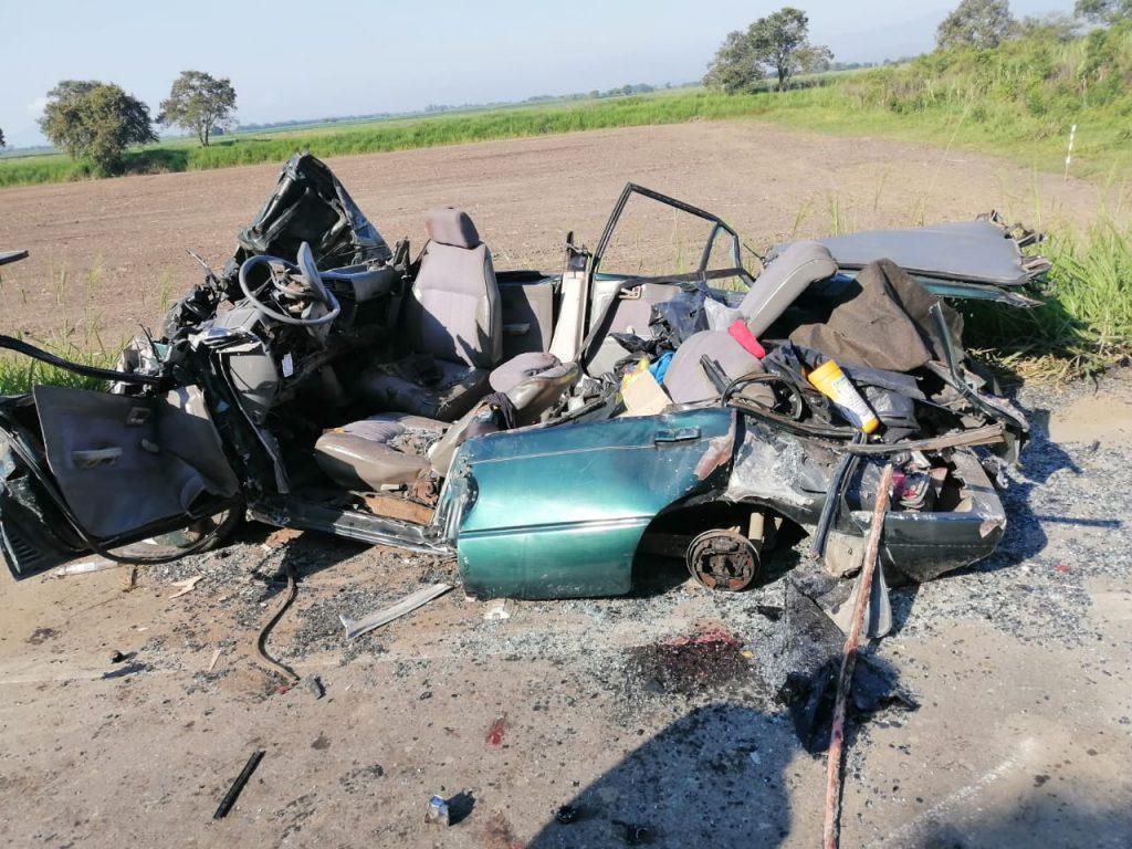 Terrible accidente entre Jamundí y Villa Rica