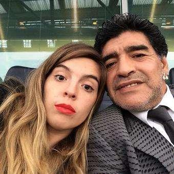 hija de Maradona