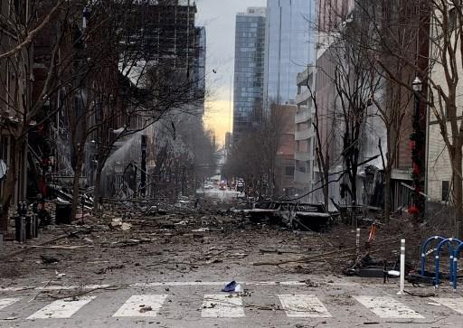 Fuerte explosión en Nashville, EEUU, habría sido intencional