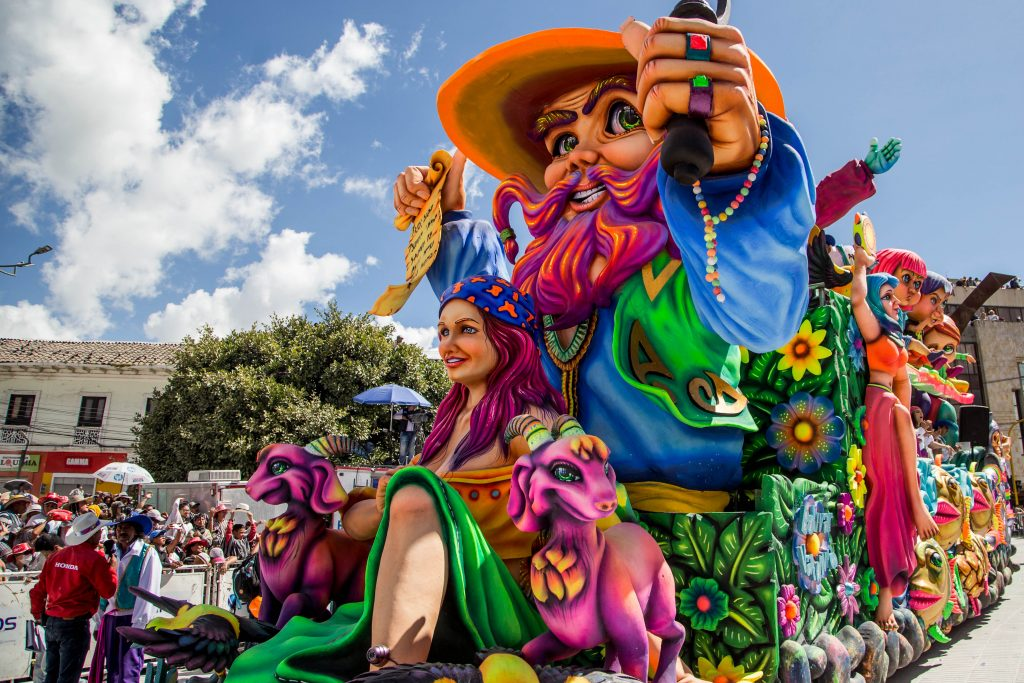 Este miércoles arranca el Carnaval de Negros y Blancos