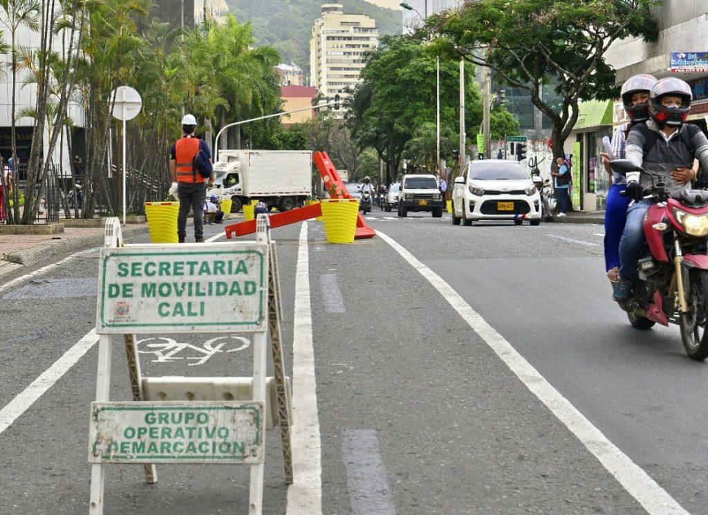 Movilidad: Recursos para materas de la Calle 8 fueron donados