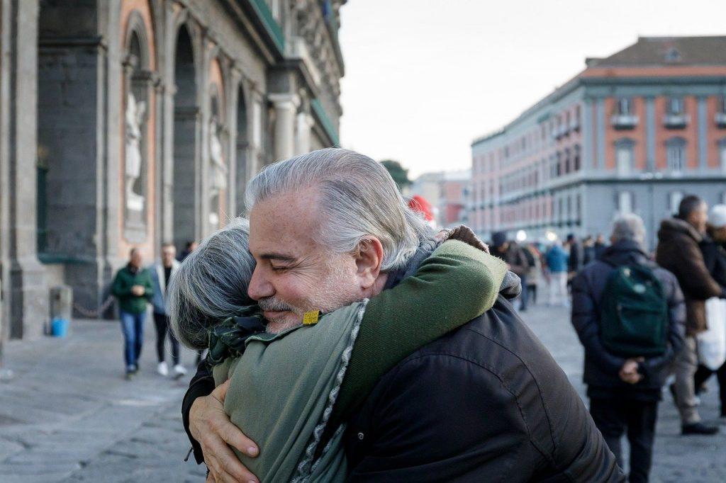 Beneficios de dar  abrazos