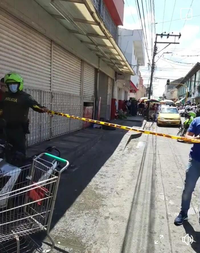 Homicidio en un supermercado en Buga