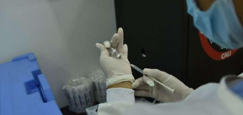 dosis de vacuna en el valle