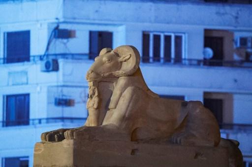 Momias de faraones del Antiguo Egipto desfilaron en El Cairo
