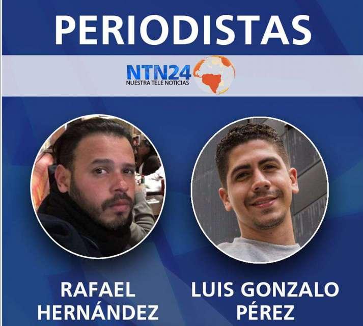 NTN24 pide liberación de periodistas retenidos en la frontera