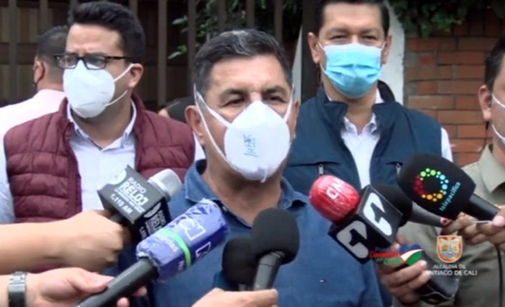 """¡Ospina reclamó!: Es """"inaudito"""" que roben a una empresa de seguridad"""