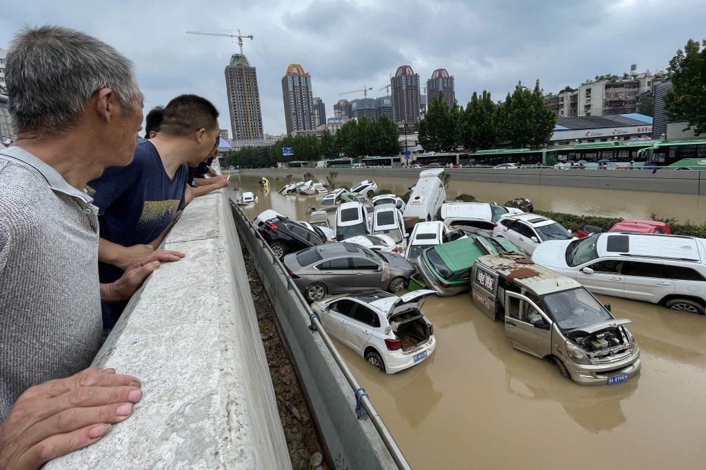 ¡Inundaciones! En China no llovía así hace mil años