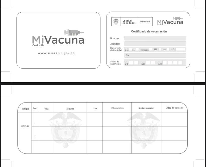 Vacunados contra el Covid-19 estarán exentos del pico y cédula