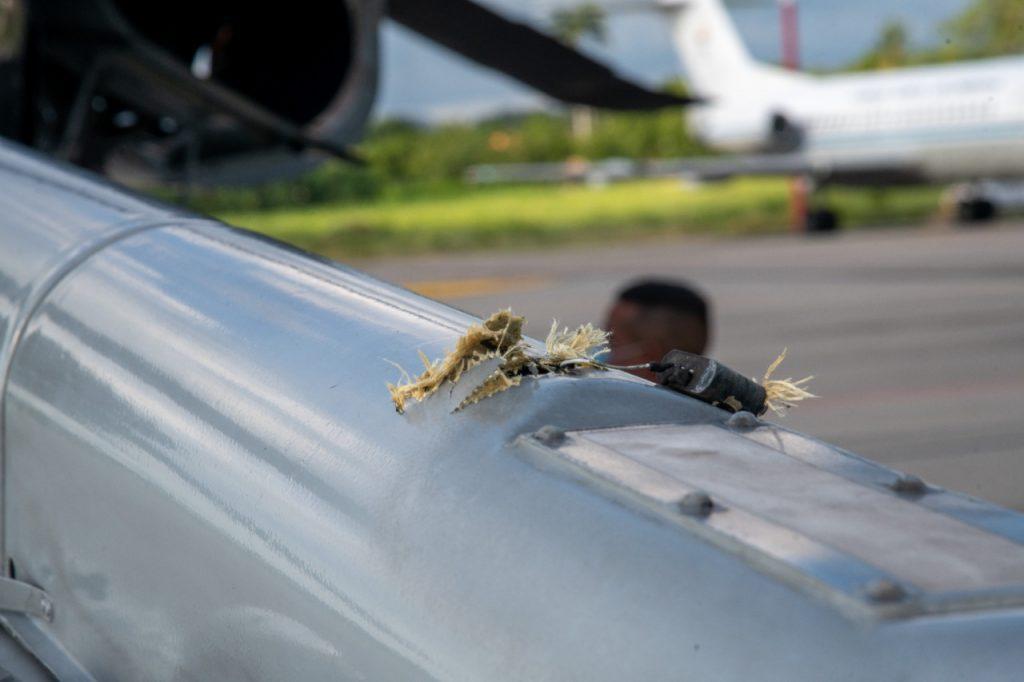 Capturan a implicados en atentado contra helicóptero presidencial