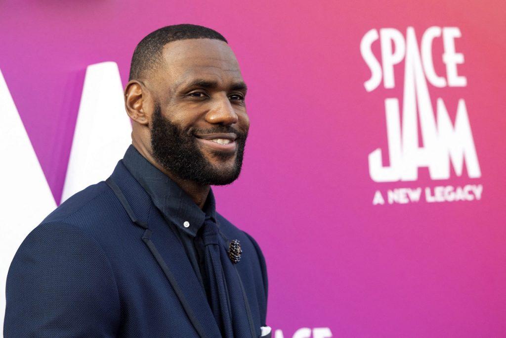 LeBron James reina en el cine con la nueva 'Space Jam'