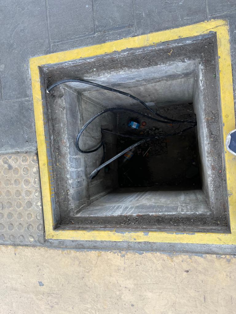 Caen ladrones de cable de la estación Paso del Comercio en Los Alcázares