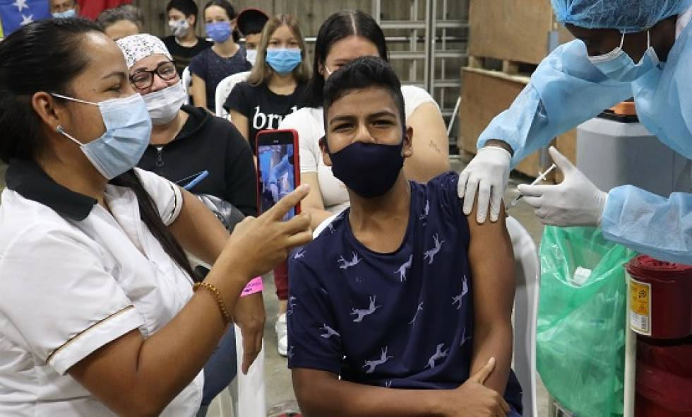 vacunaron