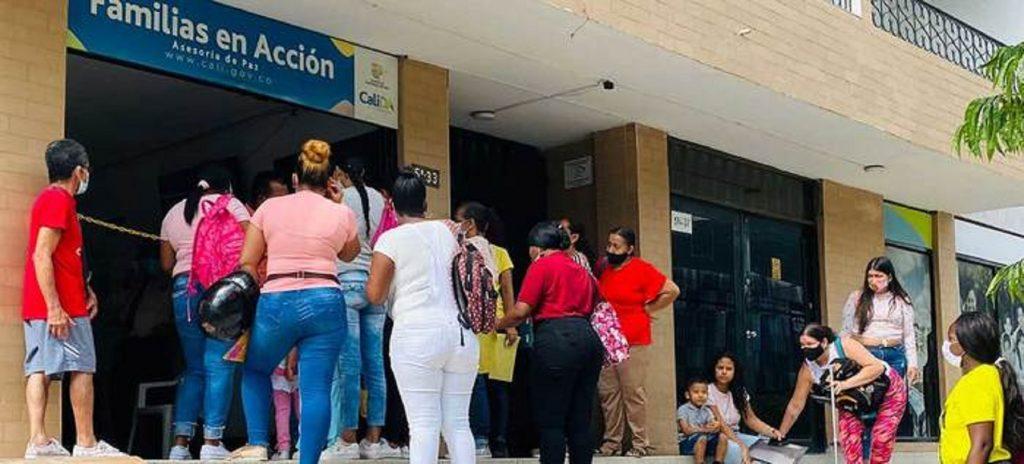 Inician pagos pendientes de Ingreso Solidario en Cali