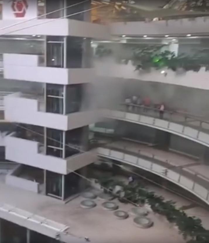 Reportan incendio en el Unicentro de Cali