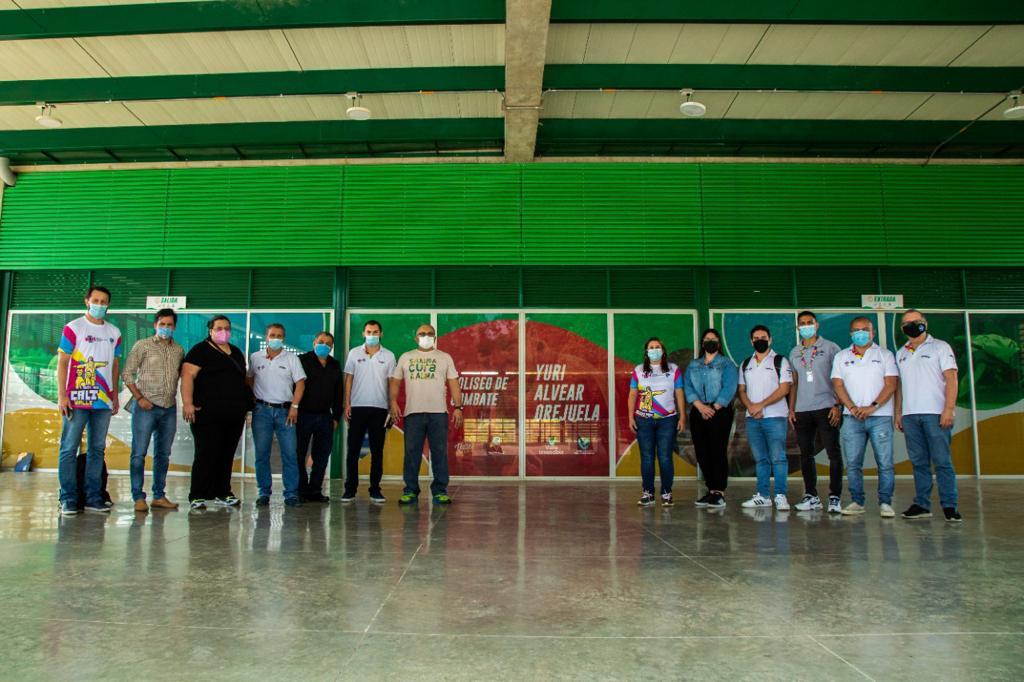 Coliseo Yuri Alvear está listo para los I Panamericanos Jr
