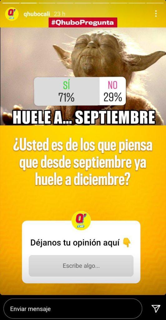 Sondeo: ¿Usted es de los que piensa que desde septiembre ya huele a diciembre?