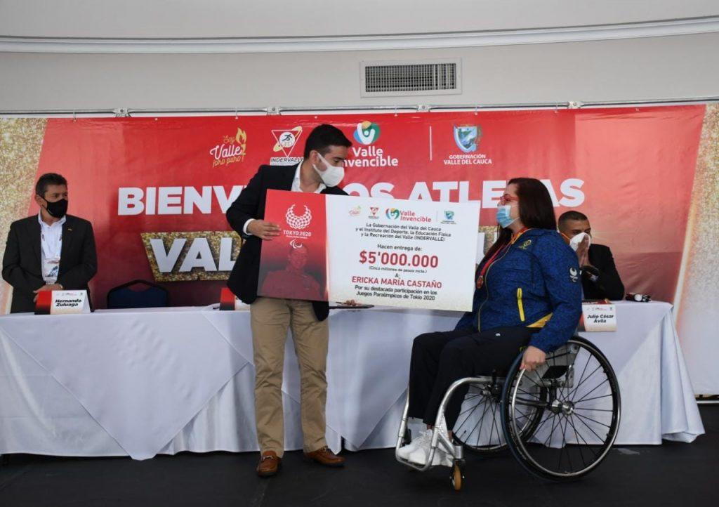 Deportistas de Tokio fueron exaltados con la Medalla 'Valle Oro Puro'